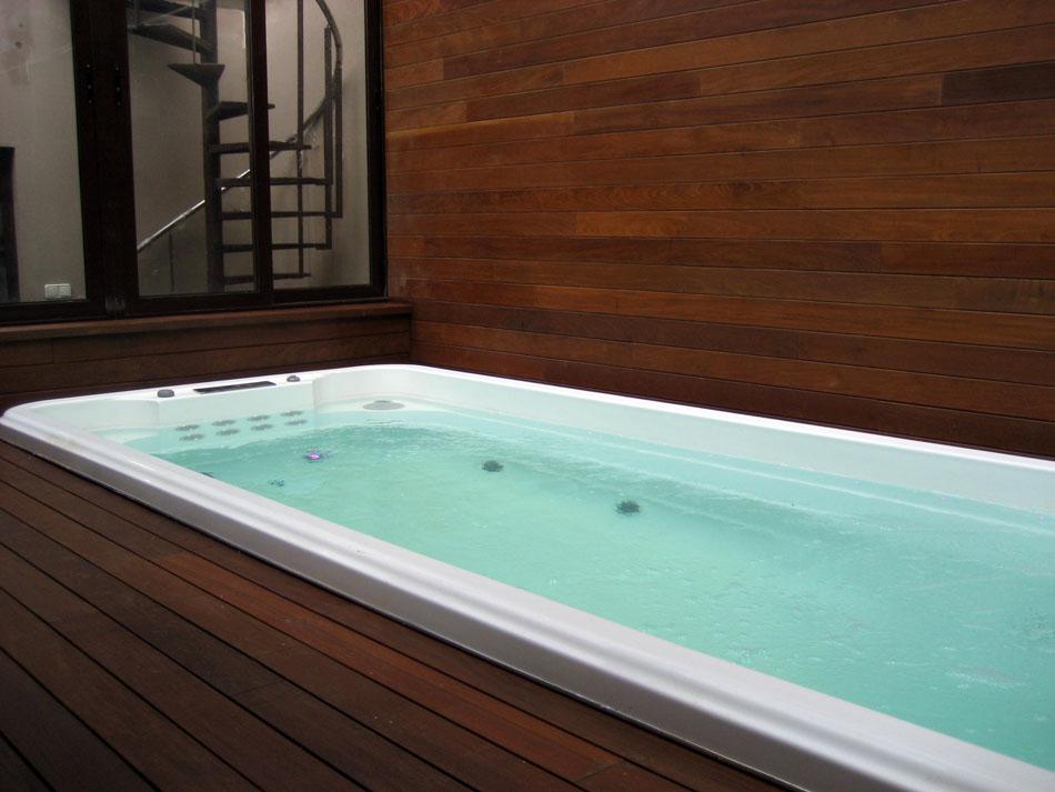 Swin-spa climatizado en vivienda