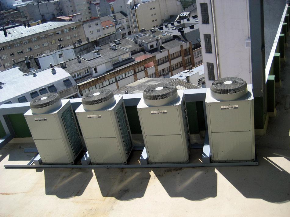 Climatización  Hotel Riazor